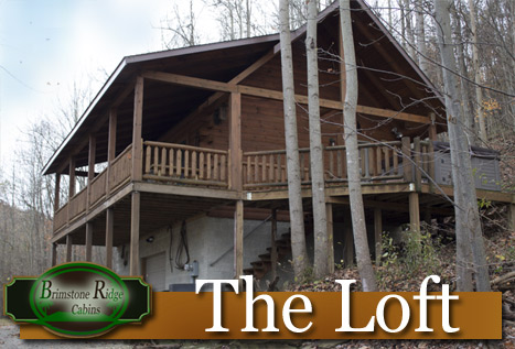 The Loft - Brimstone Ridge Cabins - Hocking Hills